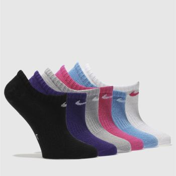 Nike Multi KIDS NO SHOW SOCK 6 PACK Socks