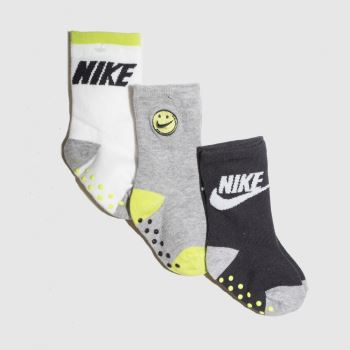Nike Multi Baby Dna Futura Crew 3pk Socks