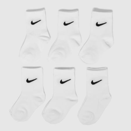Nike Kids Basic Crew 6 Packtitle=