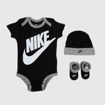 Nike Black & White Baby 3 Piece Set Socks
