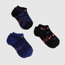 Nike Kids No Show Socks 6 Pack,2 of 4