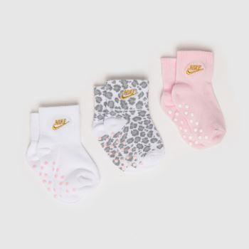 Nike Multi Ankle Socks 3 Pack Socks