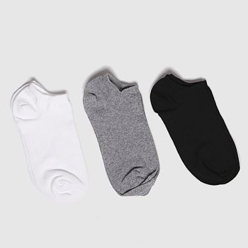 schuh Multi Kids Trainer 3pk Socks