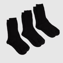 schuh Kids Ribbed Socks 3 Pack,1 of 4