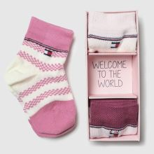 Tommy Hilfiger newborn sock giftbox 3pk 1