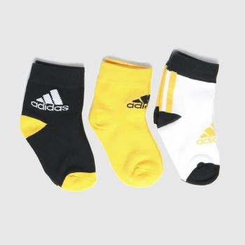 adidas Multi Kids Lk Ankle S 3pk Socks