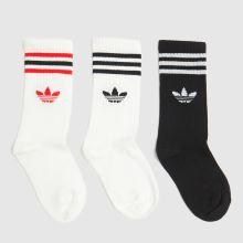 adidas Kids Crew Sock 3pk 1