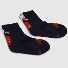 adidas Kids Spiderman Socks 3pk,3 of 4