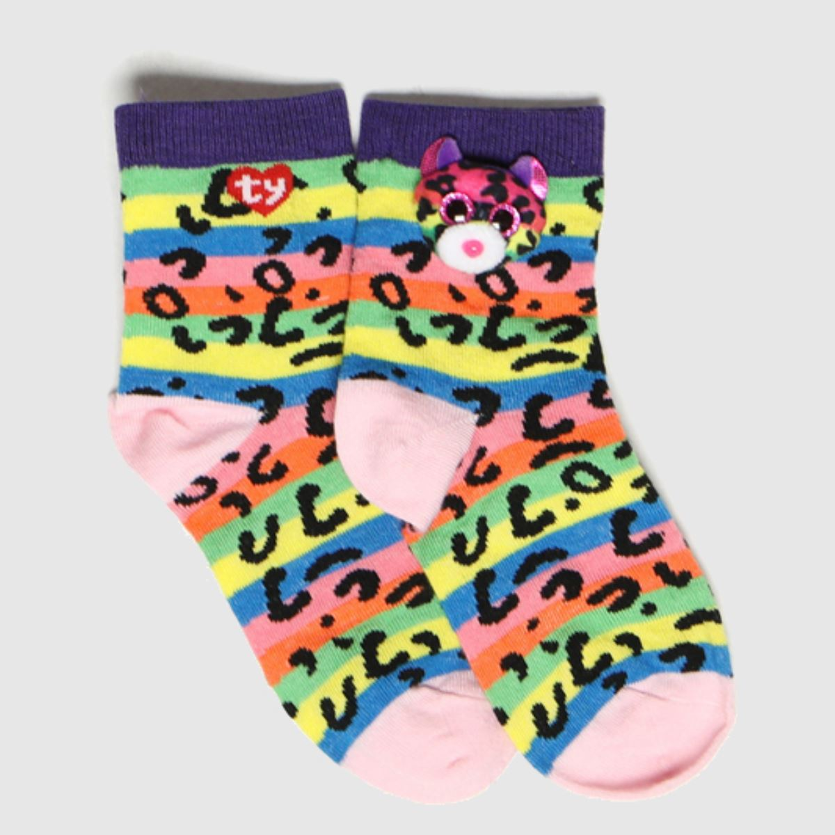 TyUK Multi Kids Sock A Boos Dotty 1pk