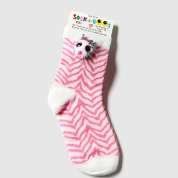 TyUK Multi Kids Sock A Boos Kiki 1pk Socks