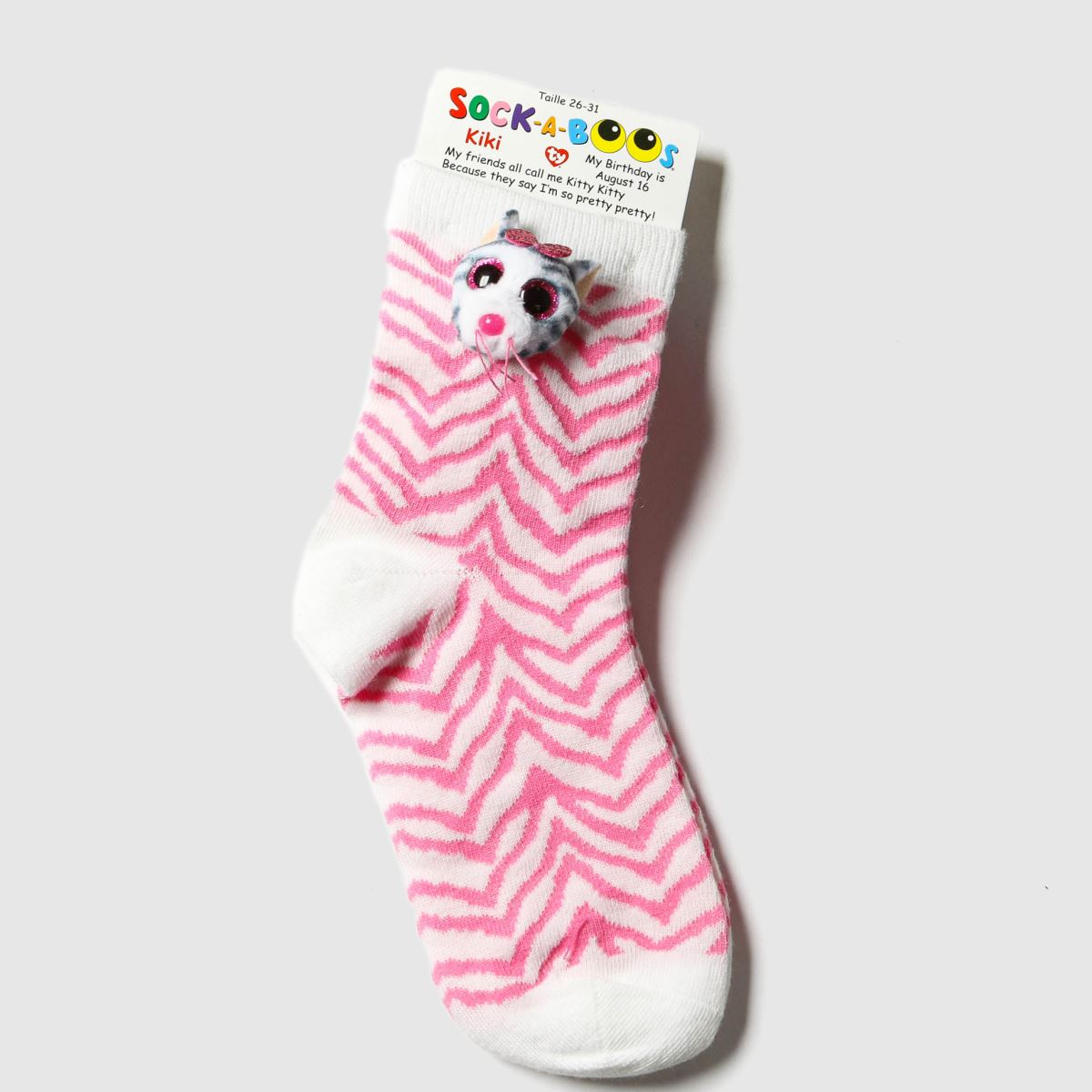 TyUK Multi Kids Sock A Boos Kiki 1pk