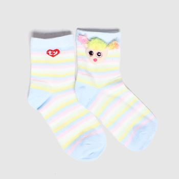 TyUK Multi Kids Sock Rainbow 1pk Socks