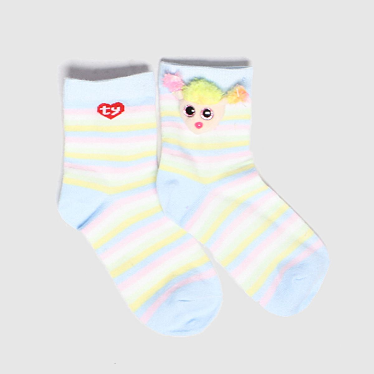 TyUK Multi Kids Sock Rainbow 1pk