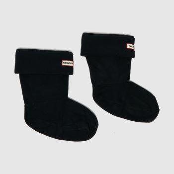Hunter Black Short Welly Sock 1 Pack Socks