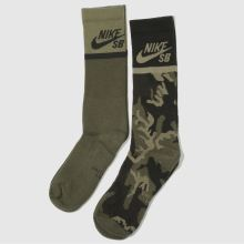 Nike Sb energy crew socks 2 pack 1