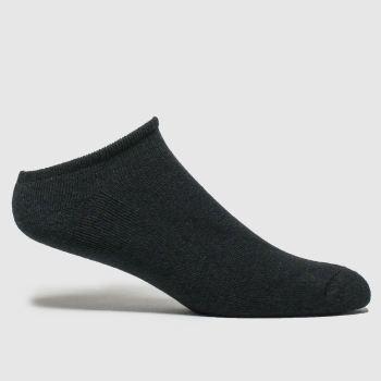 Schuh Black L Footie 5pk Socks