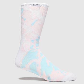 accessories schuh pale pink tie dye