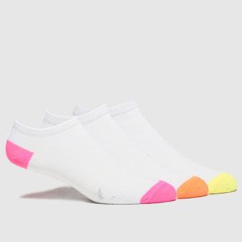 schuh Multi Neon Trainer Socks