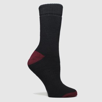 Dr Martens Black & Red Docs Sock 1pk Socks
