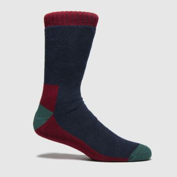 Dr Martens Navy & Red Docs Sock 1pk Socks