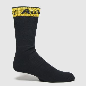 Dr Martens Schwarz Dna Heel Loop Sock Socken