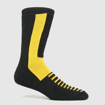 Dr Martens Black Double Doc 1pk Socks