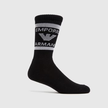 ARMANI Black 2 Pack Short Socks Socks