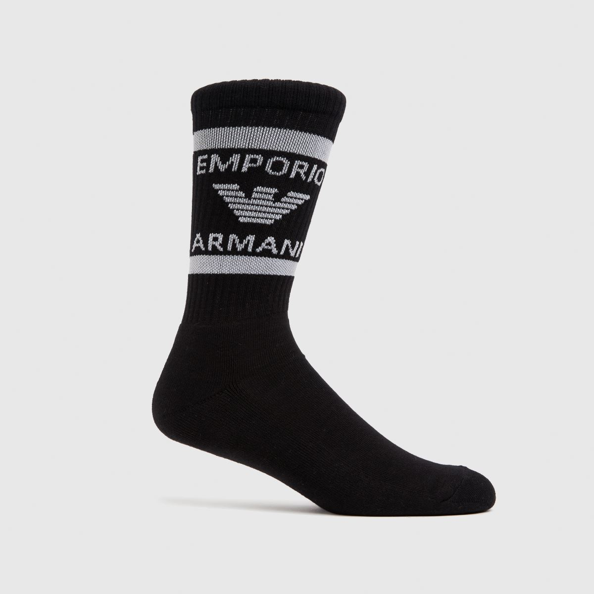 ARMANI Black 2 Pack Short Socks