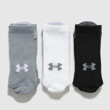 Under Armour Heatgear Crew Socks 3 Pack,2 of 4
