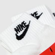 Nike Essential Ankle Socks 3 Pack,3 of 4