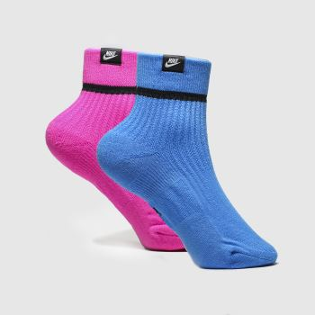 Nike Multi Snkr Sox 2pk Socks