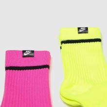 Nike Snkr Sox 2pk 1
