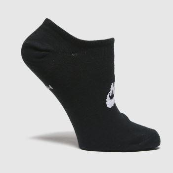 Nike Black & White Everyday Essential 3 Pack Socks