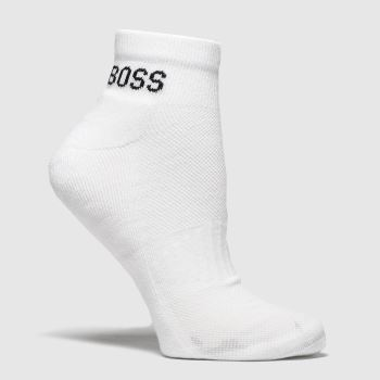 BOSS White & Black As Sport Socks Socks