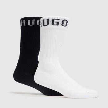 BOSS White & Navy Rs Sport Socks Socks