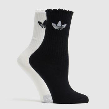 adidas Multi Ruffle Crew Sock Socks