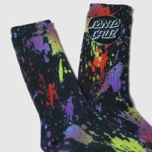 Santa Cruz Splatter Sock 1pk 1