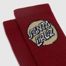 Santa Cruz Pop Dot Socks 3pk,2 of 4