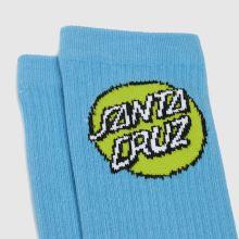 Santa Cruz Pop Dot Socks 3pk,3 of 4