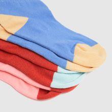 Santa Cruz Pop Dot Sock 3pk 1