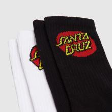 Santa Cruz Classic Dot Sock 2pk,3 of 4