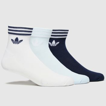 adidas Multi Ankle Sock 3pk Socks