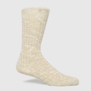BIRKENSTOCK Beige Cotton Slub Socks