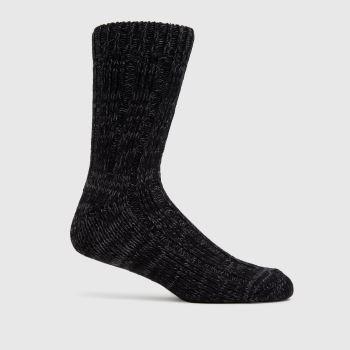 BIRKENSTOCK Black Cotton Twist Socks