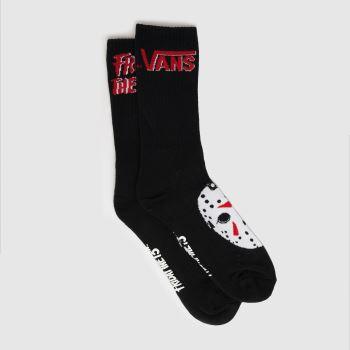 Vans Black & White Friday The 13th Sock 1pk Socks