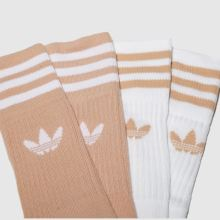 Adidas solid crew 2 pack 1