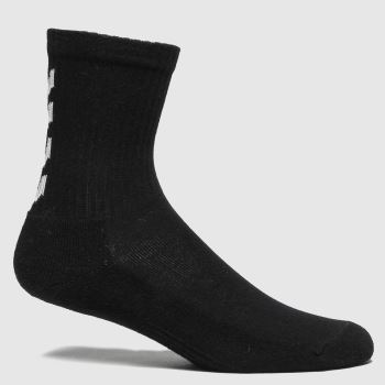 hummel Black Fundamental 3pk Socks