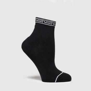 Vans Black & White Lowtide 1 Pk Socks