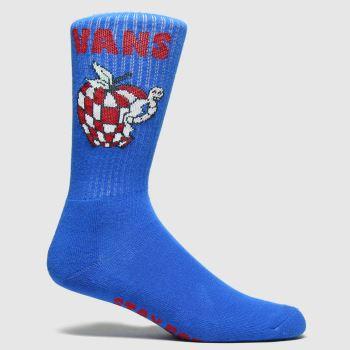 Vans Blue Stay Rotten Crew 1pk Socks