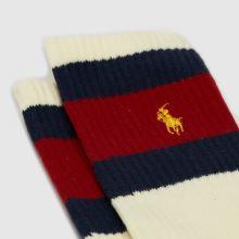 Polo Ralph Lauren Socks 3 Pack,3 of 4